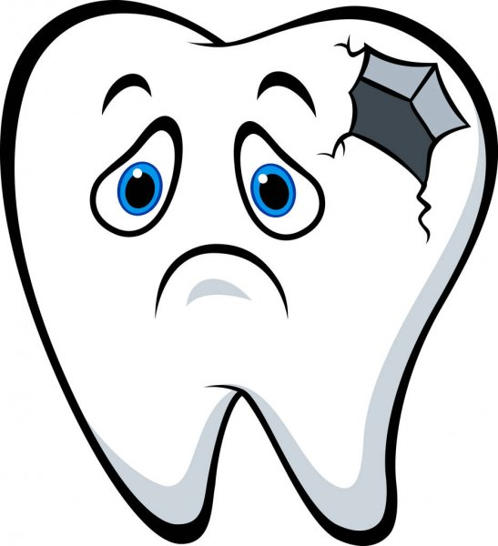 depositphotos 145533427 stock illustration sick tooth character with caries Health Care